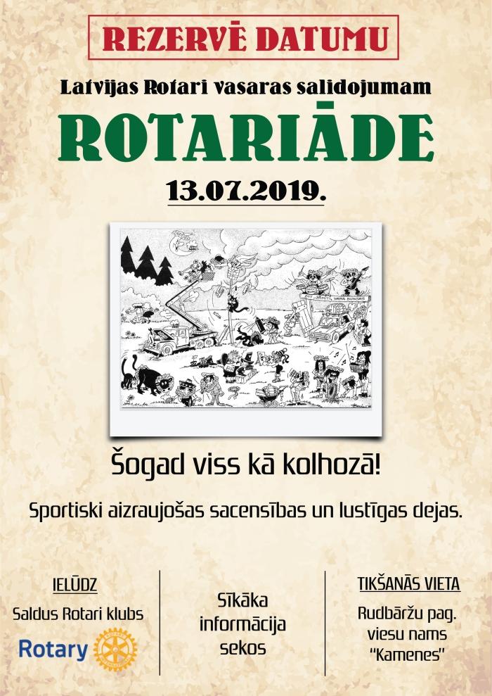 afisa_Vasaras Rotary salidojums_Saldus 2019
