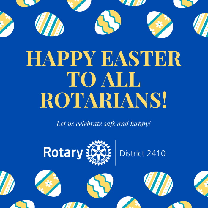 Happy Easter to all Rotarians! (1)